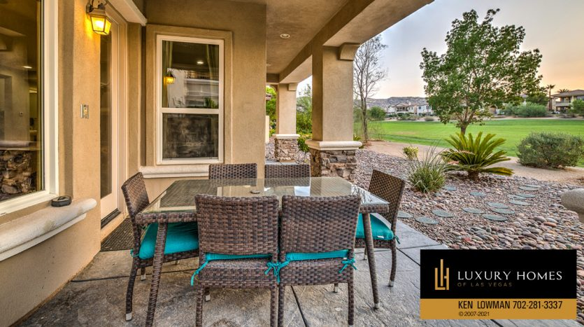 sit out at Red Rock Country Club luxury home, 1955 Orchard Mist St