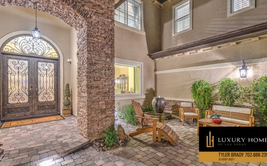 entrance area at 9795 Amador Ranch Av, Las Vegas