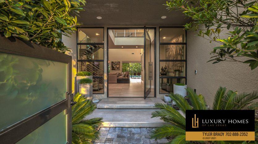 entrance to The Ridges Home for Sale, 4165 Bronze Ridge St, Las Vegas
