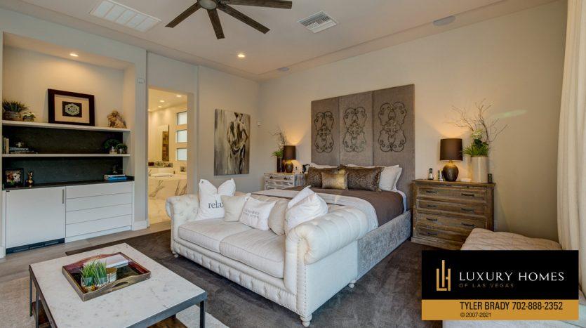 bedroom at The Ridges Home for Sale, 4165 Bronze Ridge St, Las Vegas