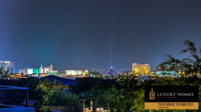 city view at The Ridges Home for Sale, 4165 Bronze Ridge St, Las Vegas