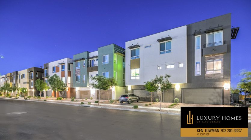outer facade of Trilogy at Summerlin Luxury Home, 4300 Veraz St