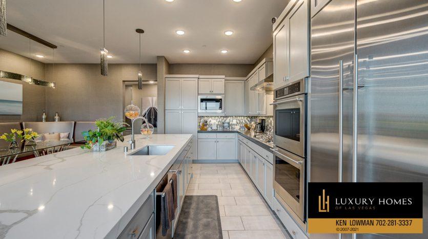 kitchen at Trilogy at Summerlin Luxury Home, 4300 Veraz St