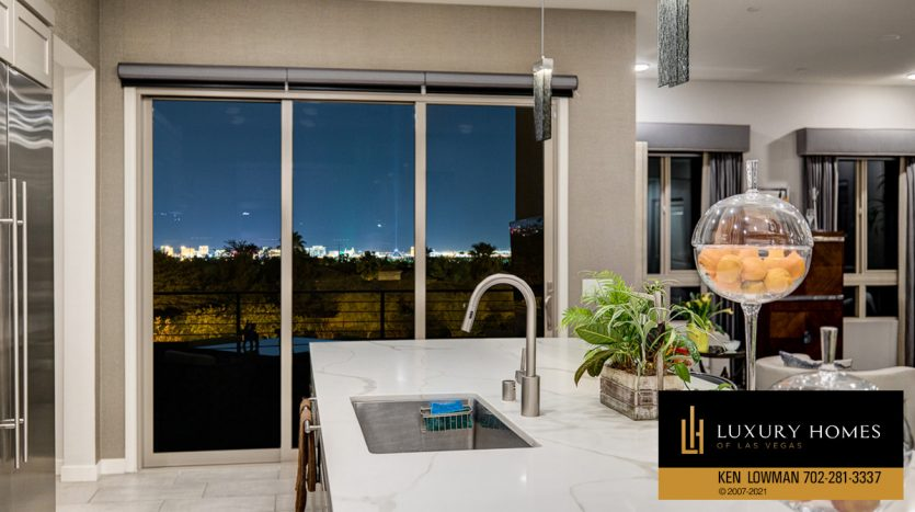 kitchen view at Trilogy at Summerlin Luxury Home, 4300 Veraz St