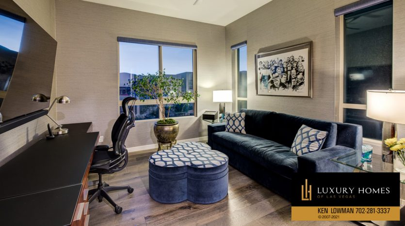work area at Trilogy at Summerlin Luxury Home, 4300 Veraz St