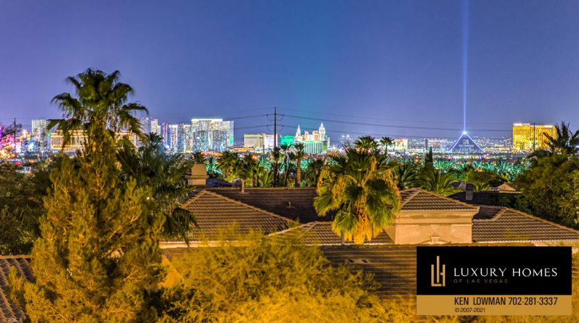 city view at Trilogy at Summerlin Luxury Home, 4300 Veraz St