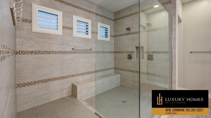 shower console at Las Vegas Luxury Home, 8306 Mojave Creek Court, Las Vegas
