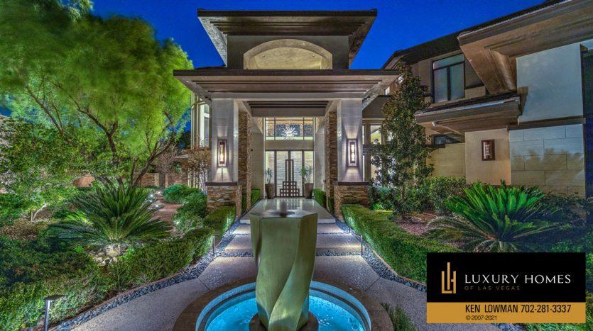 The Ridges Home for Sale  1 Drifting Shadow Way, Las Vegas