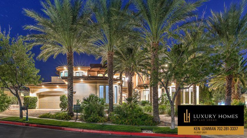 Seven Hills Luxury Home for sale, 1535 Teramo, Henderson, NV 89052