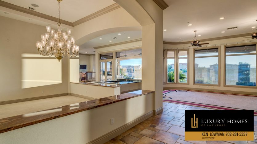 living room area at Seven Hills Luxury Home for sale, 1535 Teramo, Henderson, NV 89052