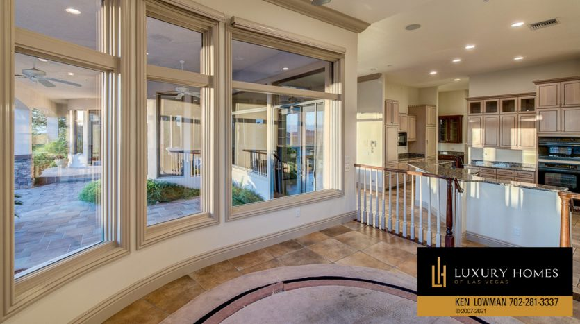 outdoor view at Seven Hills Luxury Home for sale, 1535 Teramo, Henderson, NV 89052