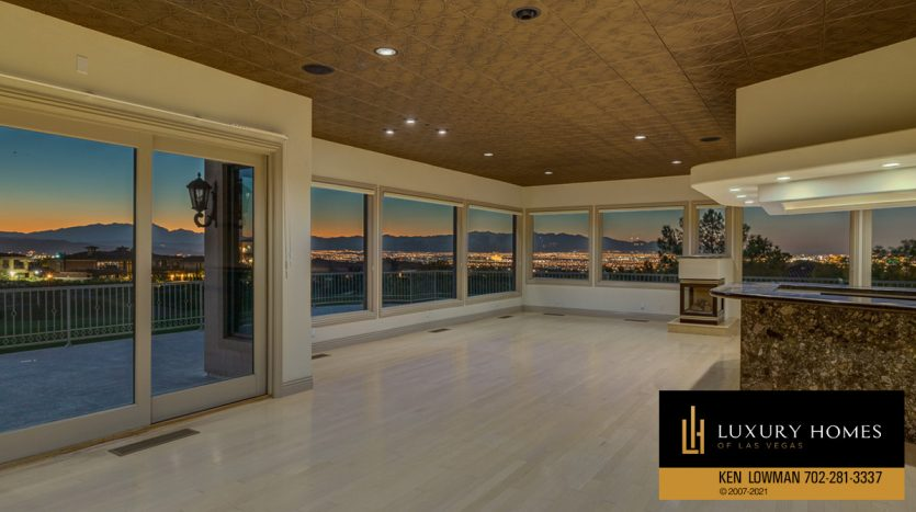 outdoor views at Seven Hills Luxury Home for sale, 1535 Teramo, Henderson, NV 89052