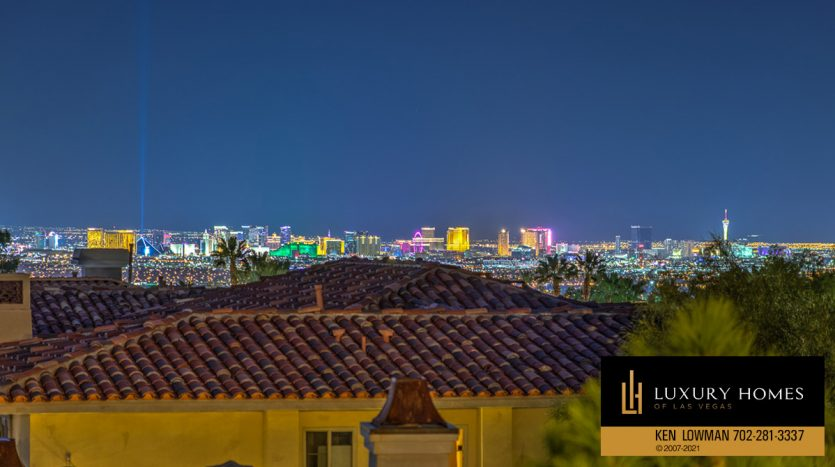 city view at Seven Hills Luxury Home for sale, 1535 Teramo, Henderson, NV 89052
